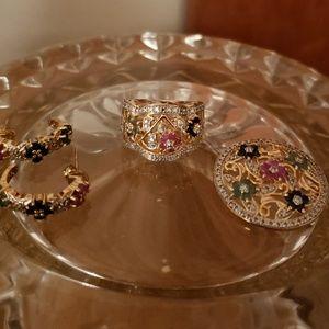 Jewelry - 14k over S/S Jewelry Set